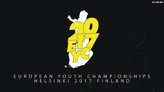 European Youth Championships 2017 -  Girls Doubles, Squad 2