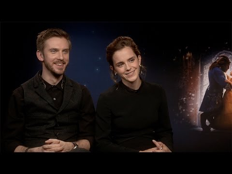 "Emma Watson & Dan Stevens: ""How hairy are you?"""