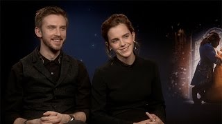 "Emma Watson & Dan Stevens: ""How hairy are you?"""