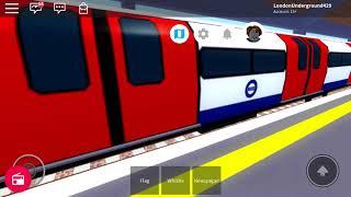 ROBLOX Mind The Gap Jubilee Line arrive à Wellesley