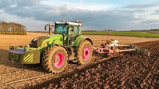 Spring Cultivations & Seed Drilling 2016
