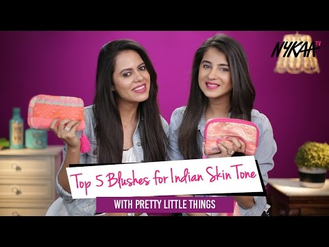 Top 5 Blushes For Indian Skin Tone + GIVEAWAY (Closed) | Pretty Little Things