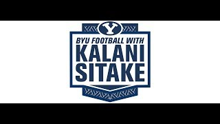 BYU Football with Kalani Sitake - September 25, 2018