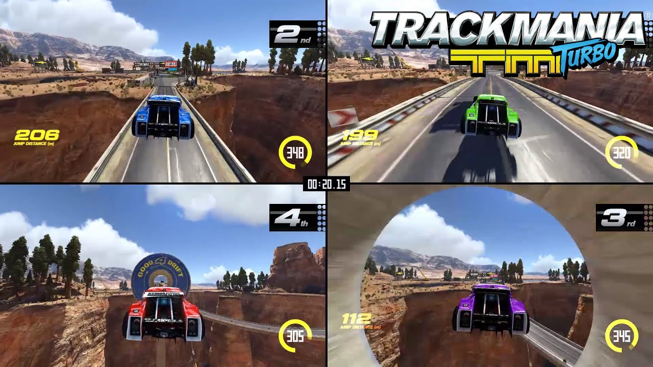 Trackmania Turbo Multiplayer Trailer More Drivers More