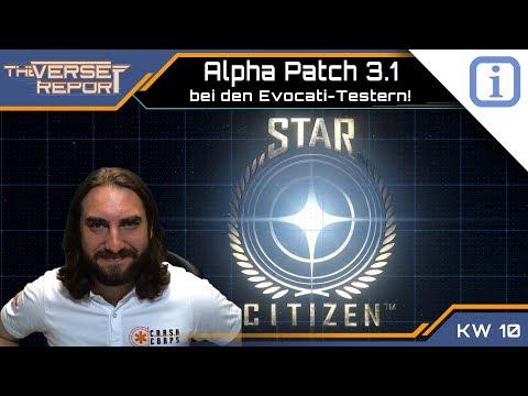 Star Citizen Alpha 3.1 bei den Evocati-Testern! | SCB Verse Report [Deutsch/German]