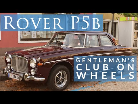 The Rover P5b Interior - A Gentleman's Club On Wheels