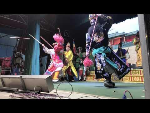 Chinese Opera Outdoor   Monkey King Festival 2018 Hong Kong