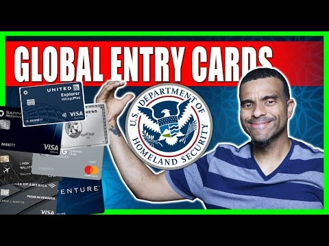 The BEST Travel Cards For FREE Global Entry & TSA Precheck