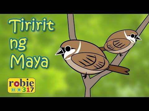Tiririt ng Maya Animated | Awiting Pambata | Filipino /  Tagalog Folk Song