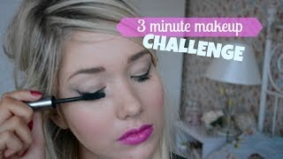 3 Minute Makeup Challenge | Away with the Fairies