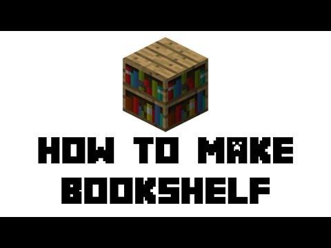 minecraft-survival:-how-to-make-bookshelf