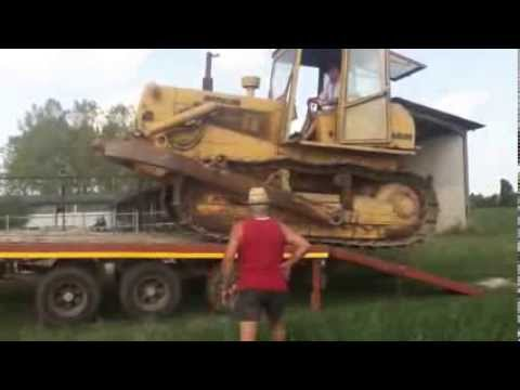 trasporto fiatallis AD 20 con fiat 1300 dt