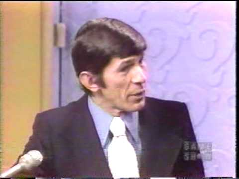 "Leonard Nimoy on ""What's My Line?"""