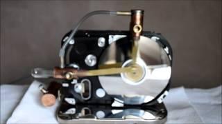 Moteur Stirling disque dur