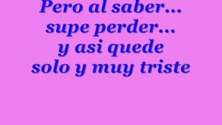 Armando: Supe Perder Lyrics
