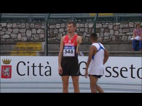 Men's high jump T47 | final | 2016 IPC Athletics European Championships Grosseto