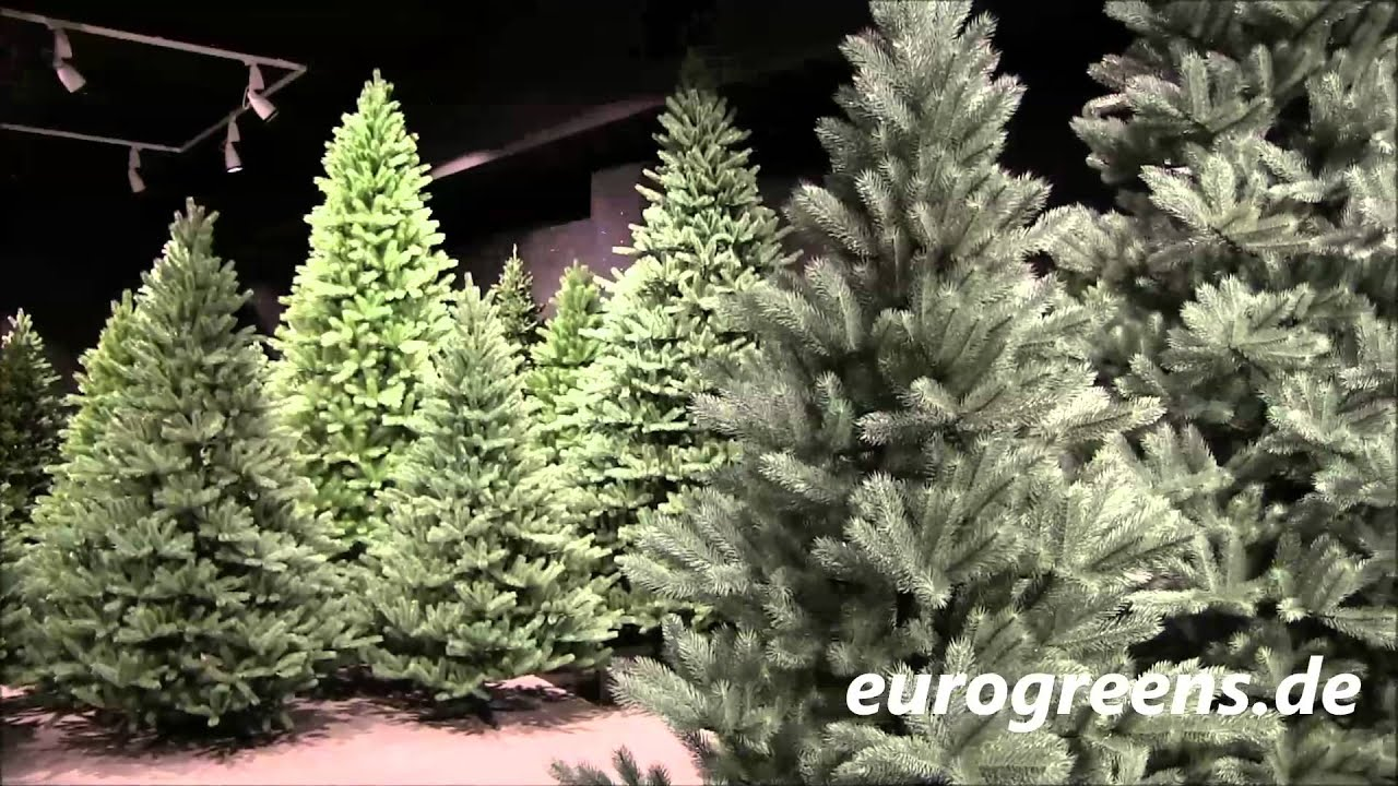 plastip spritzguss weihnachtsb ume bei eurogreens youtube. Black Bedroom Furniture Sets. Home Design Ideas