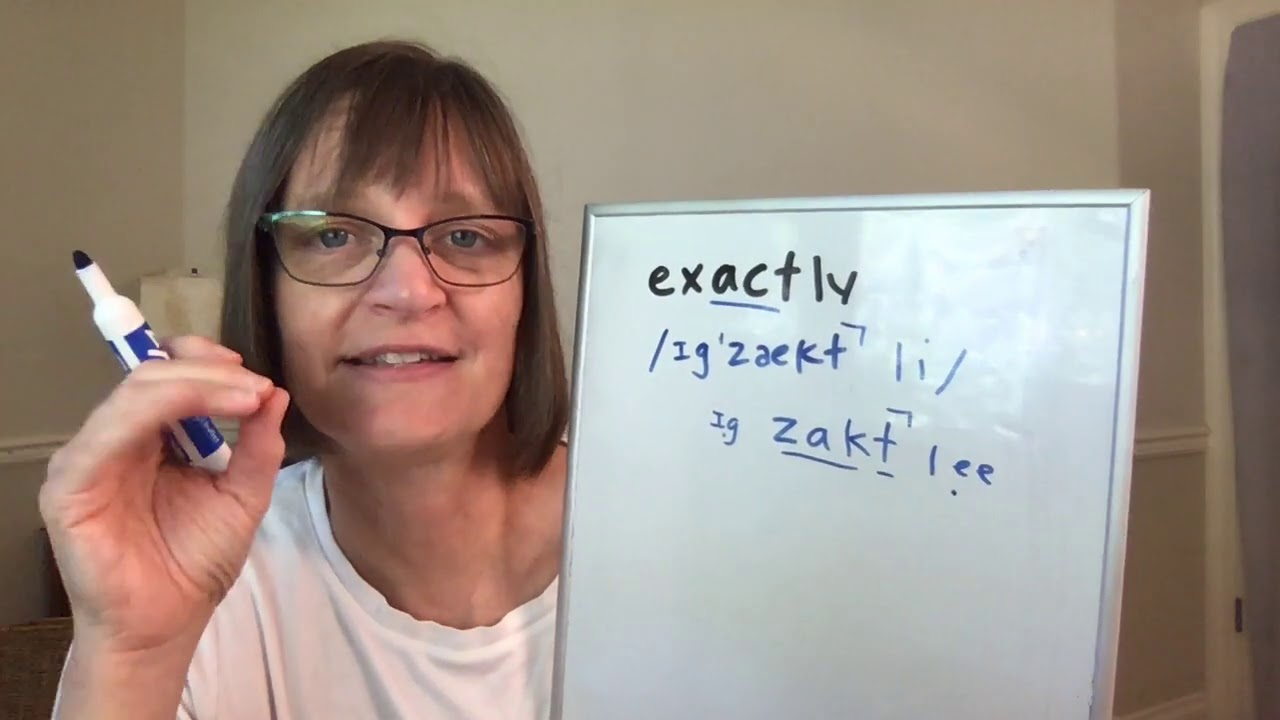 Download How to Pronounce Exact and Exactly (Free American Accent Training from SpeechModification.com)