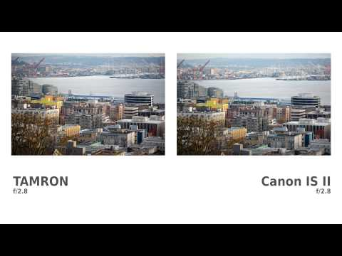Lens Comparison: Tamron 70-200 f/2.8 VC USD vs Canon 70-200 f/2.8L IS II