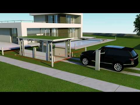 Idealpark Car Lift Invisible Solution For Private House Youtube
