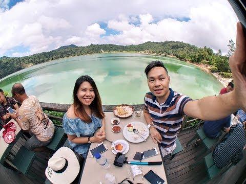 VLOG Manado 1 ~ Trip Danau Linow Tomohon Sulawesi Utara