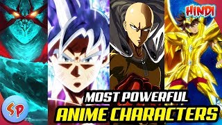Top 10 Most Powerful Anime Characters | Explained in Hindi | Anime India