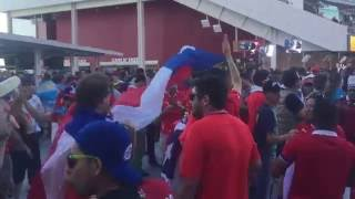Chile Fans at Copa America 2016