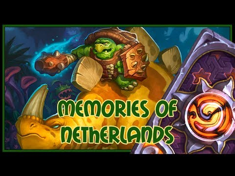 Hearthstone: Memories of Netherlands (control paladin)