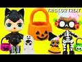 LOL Surprise Dolls TRICK OR TREAT Lil Sisters Halloween Costumes