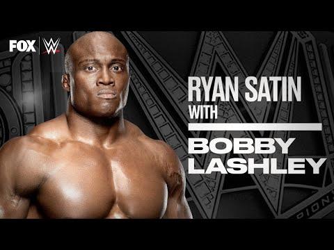 Bobby Lashley on historic WWE Title win, next feud, WrestleMania | RYAN SATIN 1-ON-1 | WWE ON FOX