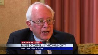 Dan Thorn: Exclusive interview w/ Senator Bernie Sanders