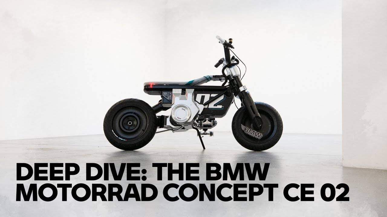 Nothing Like Anything Else Before — The new BMW Motorrad Concept CE 02