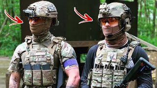 2 EX BRITISH SOLDIERS PLAY AIRSOFT CRAZY GAMEPLAY!