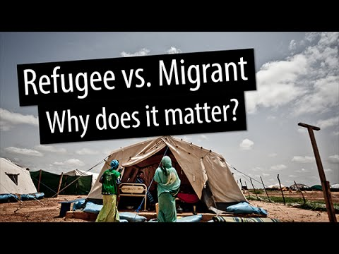 DevExplains: Refugee vs.  migrant