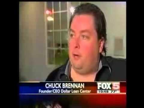 Chuck Brennan  Dollar Loan Center Presents $15,000 Gift At Fundraiser