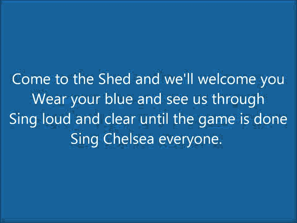Chelsea FC (Anthem Song) - Blue Is The Colour (With Lyrics ...