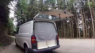 Umbau VW T5 Transporter zu Camper