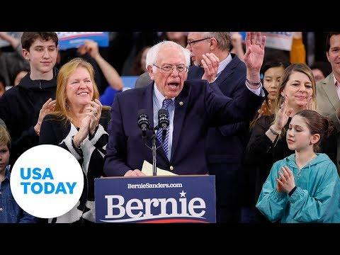 Bernie Sanders speaks at New Hampshire debate | USA TODAY