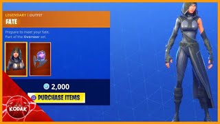 FATE SKIN! Fortnite ITEM SHOP [June 23] | Kodak wK