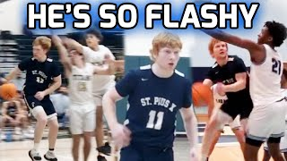 Brookes Kahlert Is The Definition Of FLASHY! Elite ATL Point Guard Starts Senior Season IN HIS BAG 🎒
