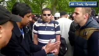Christian asks Muslim-When We Die, Where Do We Go? Hyde Park speakers corner (15 July 2012)