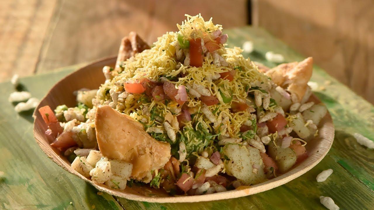 Samosa Bhel | Indian Chaat Recipe | Awesome Sauce India - YouTube