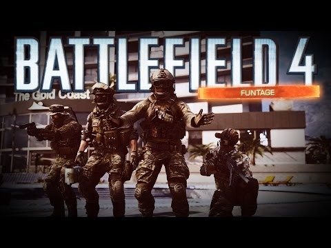 Battlefield 4 FUNTAGE - SHREKD, Jet Tutorial, Bad Guys with Legs