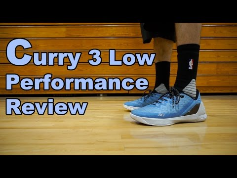ff2af4d34efe2 Under Armour Curry 3 Low Performance Review - YouTube