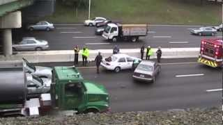 Auto accident on Route 95 in Providence