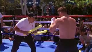 Canelo Alvarez training for Gennady Golovkin (Video: Golden Boy & GGG Promotions)