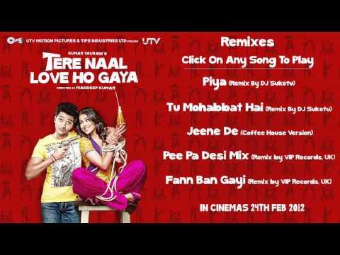 Tere Naal Love Ho Gaya Remix Songs Audio Jukebox -  Full Songs Non Stop