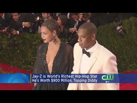 Jay-Z Is World's Richest Hip-Hop Star