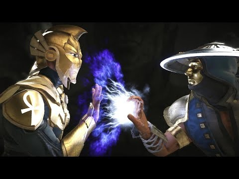 Injustice 2 : Doctor Fate Vs Raiden - All Intro/Outros, Clash Dialogues, Super Moves