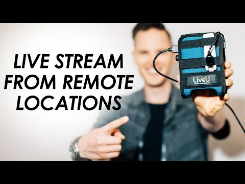 LiveU Solo — Go LIVE from Remote Locations with this Wireless HDMI Live Streaming Device